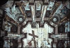 Detail: Architekturzone mit Propheten und Heiligen und Mittelbild mit Trinitäts, Aufn. Schulze-Marburg, Rudolf, 1943/1944