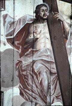Detail: Christus mit Kreuz, Aufn. Schulze-Marburg, Rudolf, 1943/1944