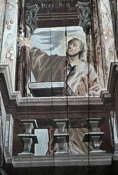 Detail: Heiliger Andreas, Aufn. Schulze-Marburg, Rudolf, 1943/1944