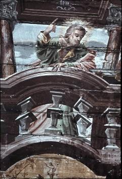 Detail: Heiliger Bartholomäus, Aufn. Schulze-Marburg, Rudolf, 1943/1944