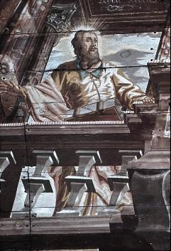 Detail: Heiliger Matthias, Aufn. Schulze-Marburg, Rudolf, 1943/1944