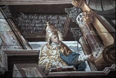 Detail: Heiliger Papst Innozenz?, Aufn. Schulze-Marburg, Rudolf, 1943/1944